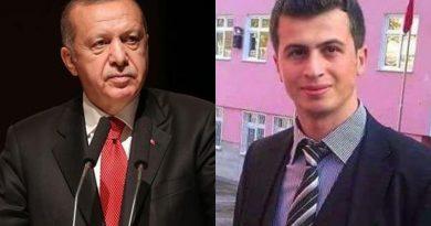Cumhurbaşkanı Erdoğan'dan şehit öğretmen Necmettin Yılmaz paylaşımı