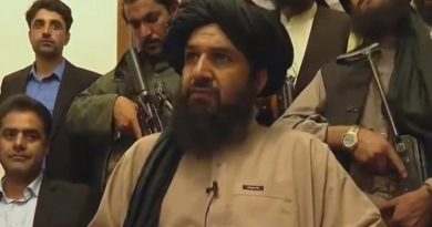 Taliban makes themselves at home at the country's presidential palace